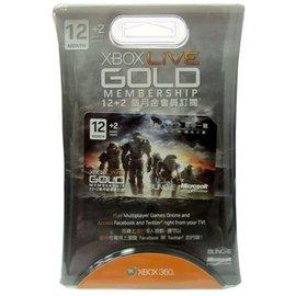 【遊戲森林】[XBOX 360 周邊/週邊] XBOX LIVE GOLD 金會員12個月+2個月 ( 最後一戰2特別版限量;XBOX360)