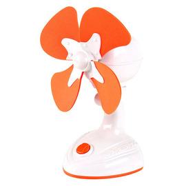 【愛美神】USB二合一安全隨身風扇◆橘色《AM-065》