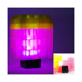 水立方 DIY 小夜燈 LED 積木燈