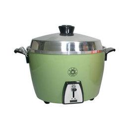 可加購雙層蒸籠【大同】《TATUNG》10人份◆電鍋//不鏽鋼內鍋◆綠色《TAC-10AS》