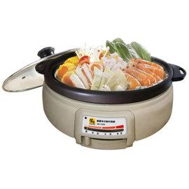 【鍋寶】4L◆多功能料理鍋《SEC-3008》