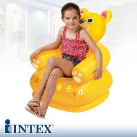 【INTEX】可愛動物充氣沙發.客廳家具 C142-68556