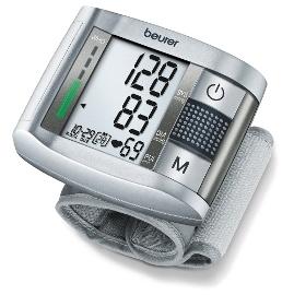 德國博依beurer手腕型電子語音血壓計 BC19 心跳不規律偵測 LED燈號分類顯示 中文語音功能