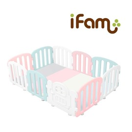 韓國【Ifam】BaBy Room 圍欄延伸門片 (粉紅色)