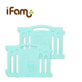 韓國【Ifam】BaBy Room 圍欄延伸門片 (綠色)