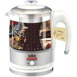 【聲寶】《SAMPO》0.9公升◆不銹鋼養生壺《KP-L9091GL》