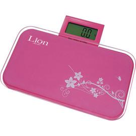 【獅子心】伸縮型粉彩電子◆體重計《LBS-007》