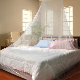 【樂活生活】《浪漫蚊帳‧睡簾》防蚊‧透氣有彈性 *內附掛勾 ~適用雙人床