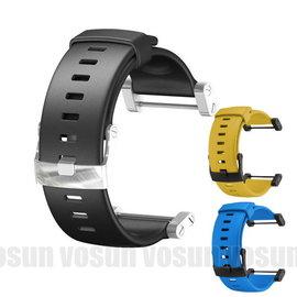 SUUNTO CORE New Deep Black/Blue/Yellow 全新 專用橡膠錶帶/ 加厚 / 抗過敏材質
