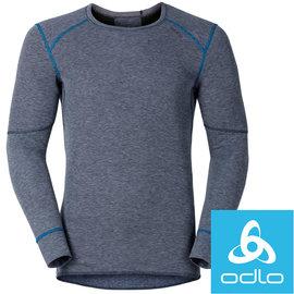 瑞士【Odlo】Warm Effect 150202 男銀離子迷彩長袖半門襟保暖排汗衣(鐵灰) 保暖衣/衛生衣 東山戶外用品