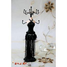 ╰~荷米~╮ 性感流蘇小禮服 模特兒 首飾架 珠寶架 可放項鍊 耳環 手鍊等 飾品