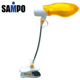 【聲寶】《SAMPO》輕巧節能夾燈◆黃色《LH-U906VL》