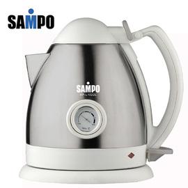 【聲寶】《SAMPO》1.2L◆不銹鋼電茶壺《KP-L1022SL》