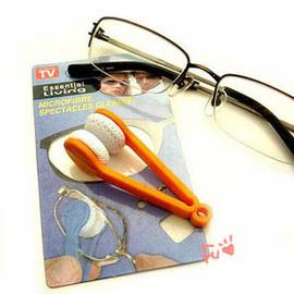 TV購物熱銷 眼鏡專用便利擦拭夾◇/方便功能攜帶型眼鏡擦布/眼鏡專用便利清潔擦/鏡面隨身清潔器/方便攜帶鑰匙圈眼鏡擦