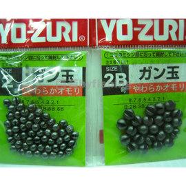 ◎百有釣具◎日本YOZURI咬鉛 規格:1/2/3/4/5/6/7/8/B/2B/3B/4B/5B/6B~多種款規格