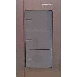 Panasonic 國際牌 GLATIMA WTGFP5352A 三開關(附蓋板)(110V) 電燈開關