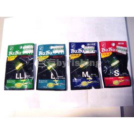 ◎百有釣具◎日本化學 夾式液體 夜光棒 一包20元 ~規格S/M/L/LL/