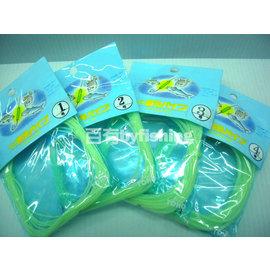 ◎百有釣具◎日本製東邦 夜光管/防纏管/防咬管 綠色1包65元 ~4種尺寸可選