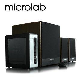 ~宏華資訊廣場~Microlab 麥博FC530 美聲 2.1聲道 4件式 好禮三選一