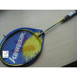 ^~橙色桔團^~ KAWASAKI KJ~300鋁合金羽球拍 單支價225元已穿線附拍套