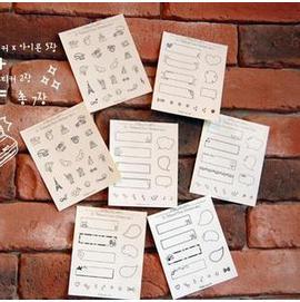 韓國 pola09 照片貼紙/裝飾貼紙Polaroid Deco sticker