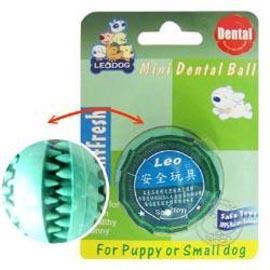 LEO~天然橡膠益智犬用•迷你健康潔牙球