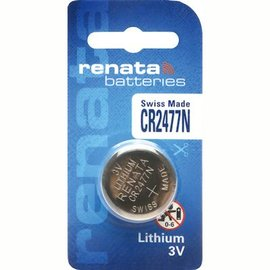 免 ~電池天地~ 手錶電池 鈕扣電池 水銀電池 RENATA CR2477N 一顆