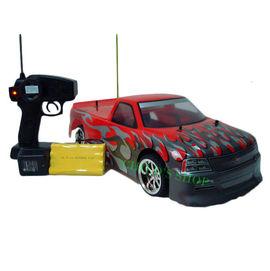 恰得玩具 1:10 四輪帶燈充電遙控車 貨卡房型入門樣式^(紅^)
