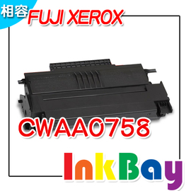 FUJI XEROX CWAA0758環保碳粉匣一支^(含晶片卡,更換碳粉匣時需 ^) ,