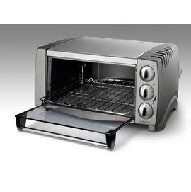 【迪朗奇】《Delonghi》12.5L◆可容納整個12吋比薩◆大都會炫風式烤箱《EO1258》