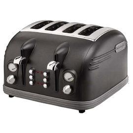 【迪朗奇】《Delonghi》四片加寬麵包槽◆大都會四片式烤麵包機《CTM4023》