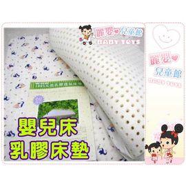 麗嬰兒童玩具館~初生BABY精選-天然嬰兒乳膠床墊(加大遊戲床款).透氣舒適.2.54CM款
