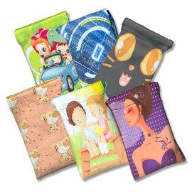 【含運、平信】卡通風格長拉繩束口袋/手機布套/手機袋/mp3 mp4 mp5 保護束口袋/吊袋