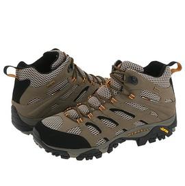 【MERRELL 邁樂】 女中筒新款 Moab Mid Gore-Tex Xcr 100%防水透氣專業健行.登山鞋.健走.休閒旅遊-Vibram黃金大底(送多功能置鞋袋)