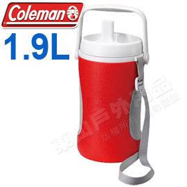 ~Coleman~1.9L 保冷水壺 飲料桶露營水壺 保冷袋 保冰袋 冰桶 保冷壺 貨~滿