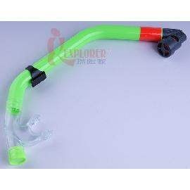 UL1102呼吸管(乾式-可排水)台灣製(綠色款)(另有售矽膠蛙鏡)