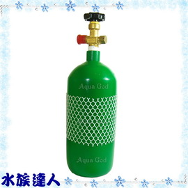 【水族達人】《全新CO2鋼瓶3.5L》水草缸必備品!