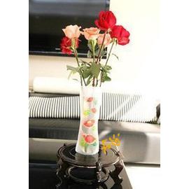 時尚家居 創意PVC 軟式花瓶◇/日本最新 環保 創意 可折疊花瓶/收納花瓶
