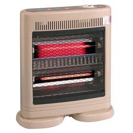 【伊娜卡】箱型黑鐵管◆電暖器《ST-3661》
