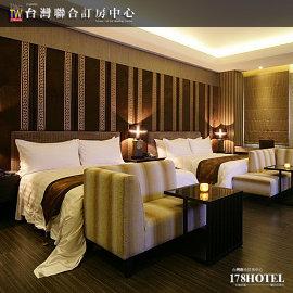 代訂頂級motel四人房住宿台中杜拜時尚旅館‧麗緻溫馨4人房 2780元(含早餐)