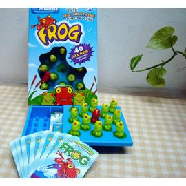 益智遊戲 : 青蛙跳棋 ^~ 大小朋友一起來動動腦 ^^^^