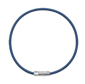 【太和健康生活工房】液化鈦負離子能量健康頸環【深寶藍】