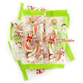 【吉嘉食品】聖誕拐杖棒棒糖/聖誕小柺杖糖棒~300公克95元,另有聖誕棉花棒,聖誕Q皮{XG195:300}