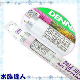 【水族達人】丹尼爾DENNERLE《水族增艷燈管4100K˙36W》T8燈管 燈管首選!