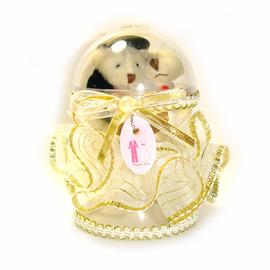 【花現幸福】☆婚禮小物-mini幸福Q蛋70元☆(婚禮小物/送客禮/姐妹禮/結婚對熊)