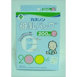 Kaneson-日本進口母乳冷凍袋 200ml   *本月特惠價*