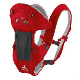 【德國 VAUDE】世界知名輕量化多功能兒童背架(嬰兒背帶 抱袋)SOFT III VA-10060 紅