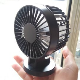 (有感風量60公分) USB雙葉片桌上型風扇 (2段風速、雙風葉設計、30度仰角) USB 電風扇 嬰兒車迷你電風扇 無印良品 FAN-262