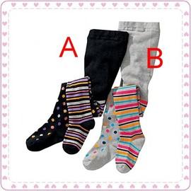 ~條文點點~針織保暖褲襪~105~145cm