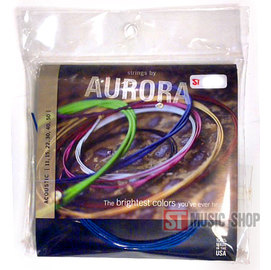ST Music Shop~美國AURORA 彩色絃(11~50)民謠吉他弦 木吉他套弦